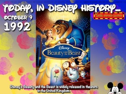 Today In Disney History ~ October 9th 1