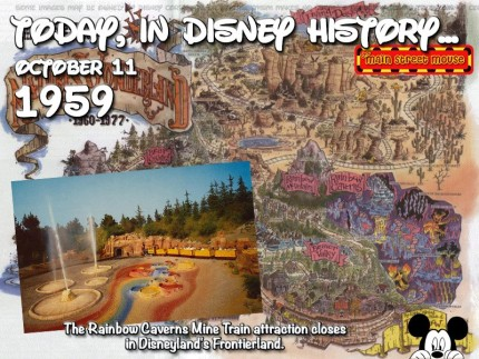 Today In Disney History ~ October 11th 5
