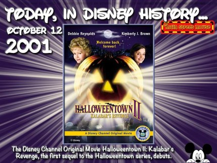 Today In Disney History ~ October 12th 1