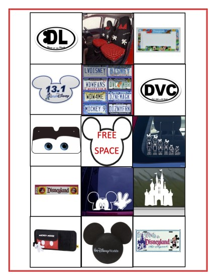 Printable Disney Road Trip Games 1