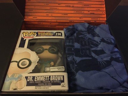Loot Crate Review October 2015 - Theme: Time 1