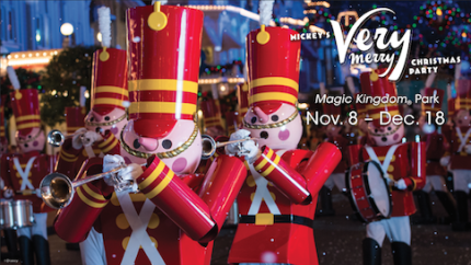 Mickey's Very Merry Christmas Party Returns to Walt Disney World Resort Nov. 8 1
