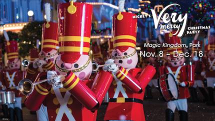 Mickey's Very Merry Christmas Party Returns to Walt Disney World Resort Nov. 8 9