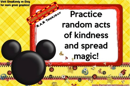 TMSM's Random Acts of Kindness Thursday ~ Main Streeter Feedback 1