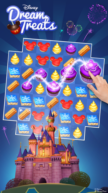 Serve Up Sweet Disney Parks Treats in New Disney Dream Treats Puzzle Game 3