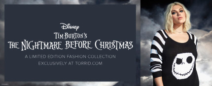 The Nightmare before Christmas clothing line at Torrid! 5