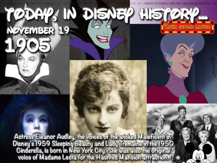 Today In Disney History ~ November 19th 2
