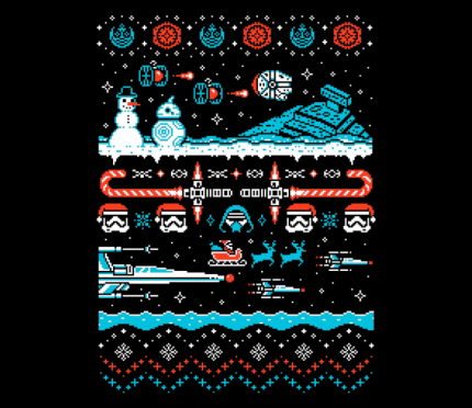 Star Wars: The Force Awakens Inspired Christmas Shirt Today At TeeFury!!! 8