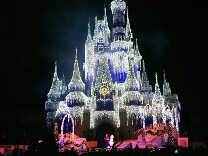 Watch the Frozen Holiday Wish from Last Night at the MK! 5