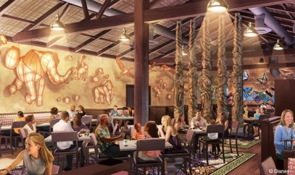 Tiffins Signature Restaurant Coming to Disney's Animal Kingdom in 2016 1