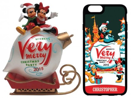 Commemorative Merchandise For Mickey's Very Merry Christmas Party 2015 at Magic Kingdom Park 2
