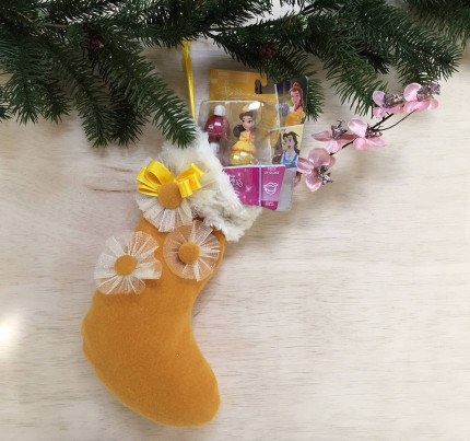 Belle Holiday Stocking 5