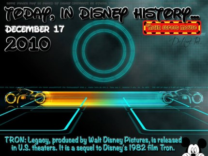 Today In Disney History ~ December 17th 10