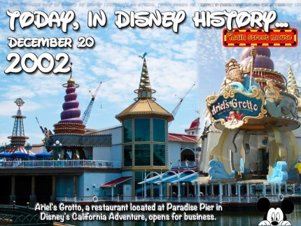 Today In Disney History ~ December 20th 16