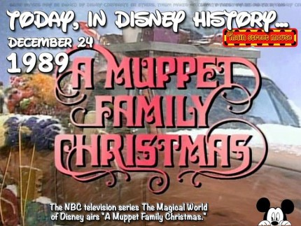 Today In Disney History ~ December 24th 3