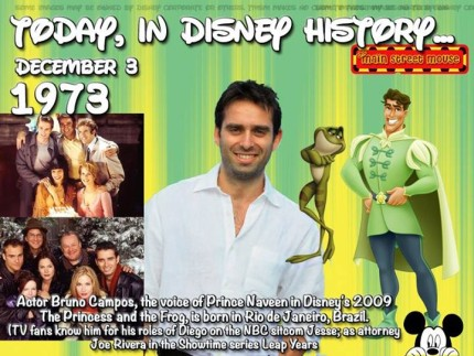 Today In Disney History ~ December 3rd 4