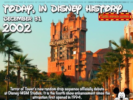 Today In Disney History ~ December 31st 7