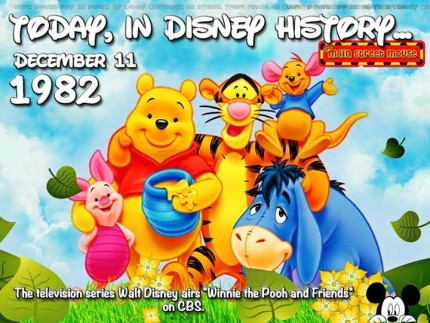 Today In Disney History ~ December 11th 1