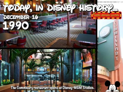 Today In Disney History ~ December 16 2