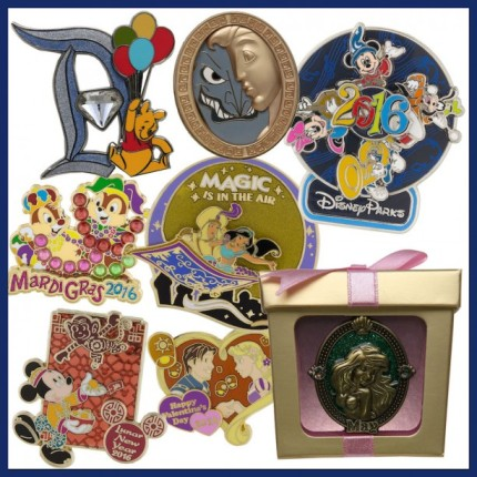 Look Ahead at New Pins Coming to Disney Parks in 2016 2