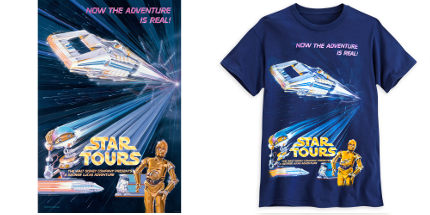 Exclusive: This Amazing Limited Edition Star Tours T-Shirt Is Cosmically Cool 20