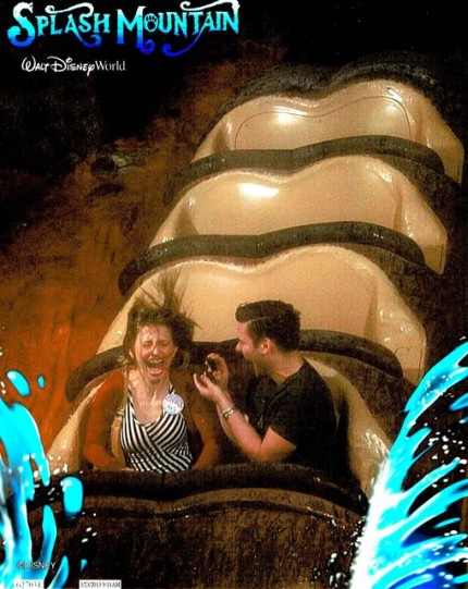 A Well Timed Splash Mountain Proposal! 1