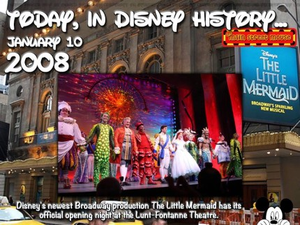 Today In Disney History ~ January 10th 7