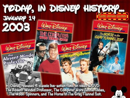 Today In Disney History ~ January 14th 1
