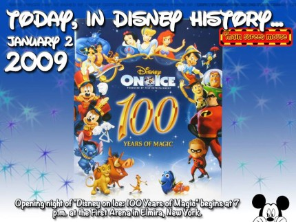 Today In Disney History ~ January 2nd 3