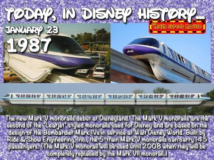 Today In Disney History ~ January 23rd 4