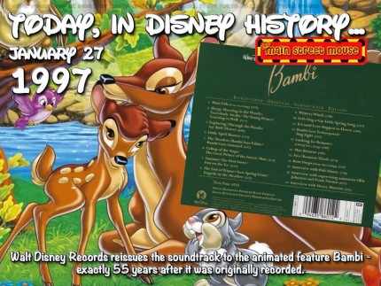 Today In Disney History ~ January 27th 4