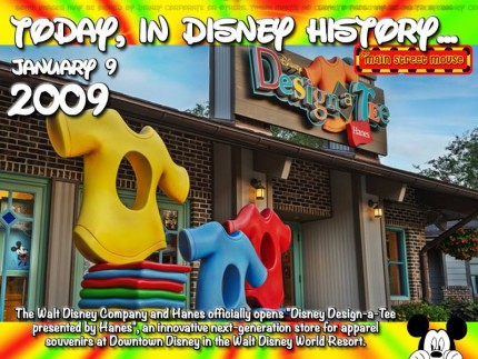 Today In Disney History ~ January 9th 10
