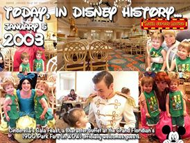 Today In Disney History ~ January 5th 5