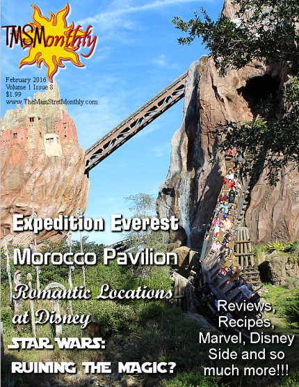 Your chance at a Disney Parks Prize from The Main Street Monthly! February Issue Out Now! 1