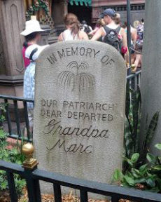 All in the Details: Behind the Haunted Mansion's Tombstones 1