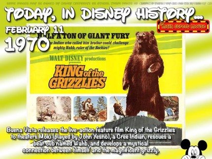 Today In Disney History ~ February 11th 1