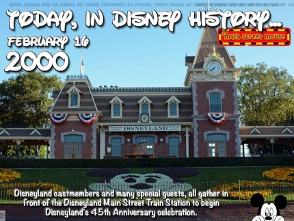 Today In Disney History ~ February 16th 1