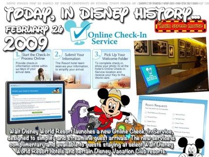 Today In Disney History ~ February 26th 1