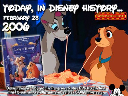 Today In Disney History ~ February 28th 7