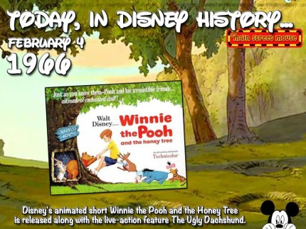 Today In Disney History ~ February 4th 2