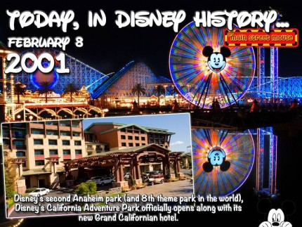 Today In Disney History ~ February 8th 1