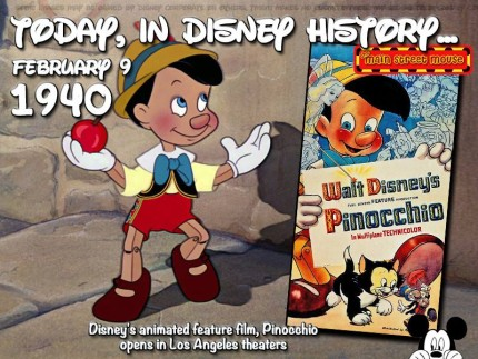 Today In Disney History ~ February 9th 1