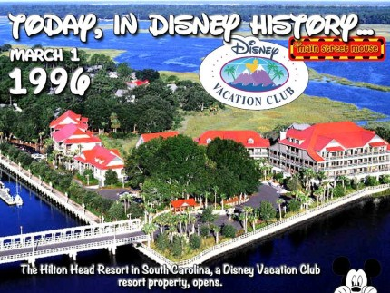 Today In Disney History ~ March 1st 1