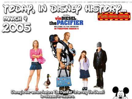 Today In Disney History ~ March 4th 1