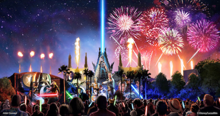 The Start Date For 'Star Wars: A Galactic Spectacular' Fireworks Has Been Announced! 9