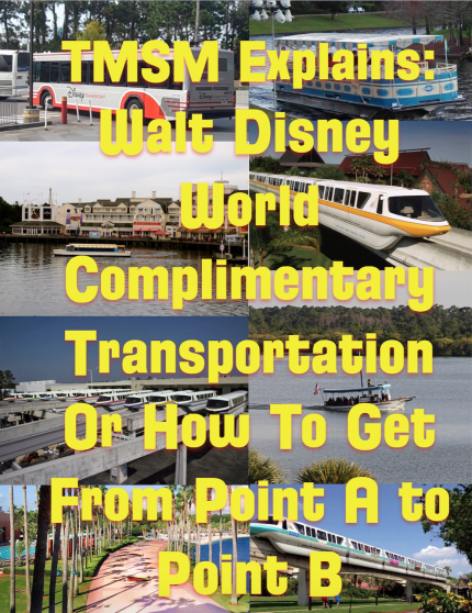 TMSM Explains: Walt Disney World Complimentary Transportation Or How To Get From Point A to Point B 21