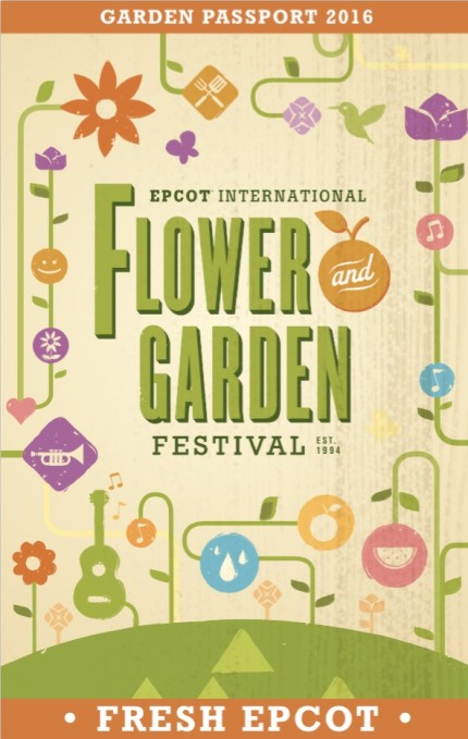 The 2016 EPCOT International Flower and Garden Festival Passport Is Out And Full of Info! 1