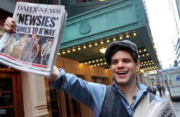 From Mouse to Marquee: Act 6, Scene 2: The Cast of Newsies leaps to Life 15