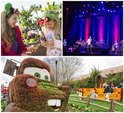 2016 Epcot International Flower & Garden Festival Dates, Outdoor Kitchen and Concert Information Released! 8