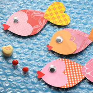 Disney Craft Time ~ Little Mermaid Inspired Valentine Fish 2